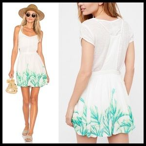 Free People Palm Leave Racerback Dress *NEW*